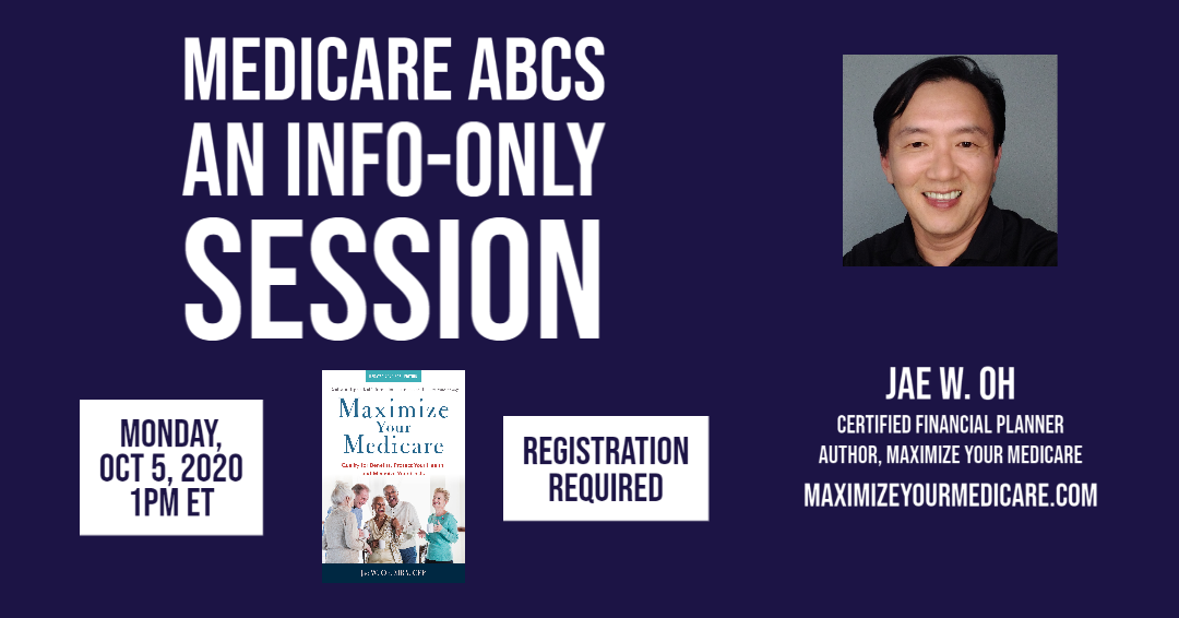 Register NOW for Medicare ABCs, Virtual Event