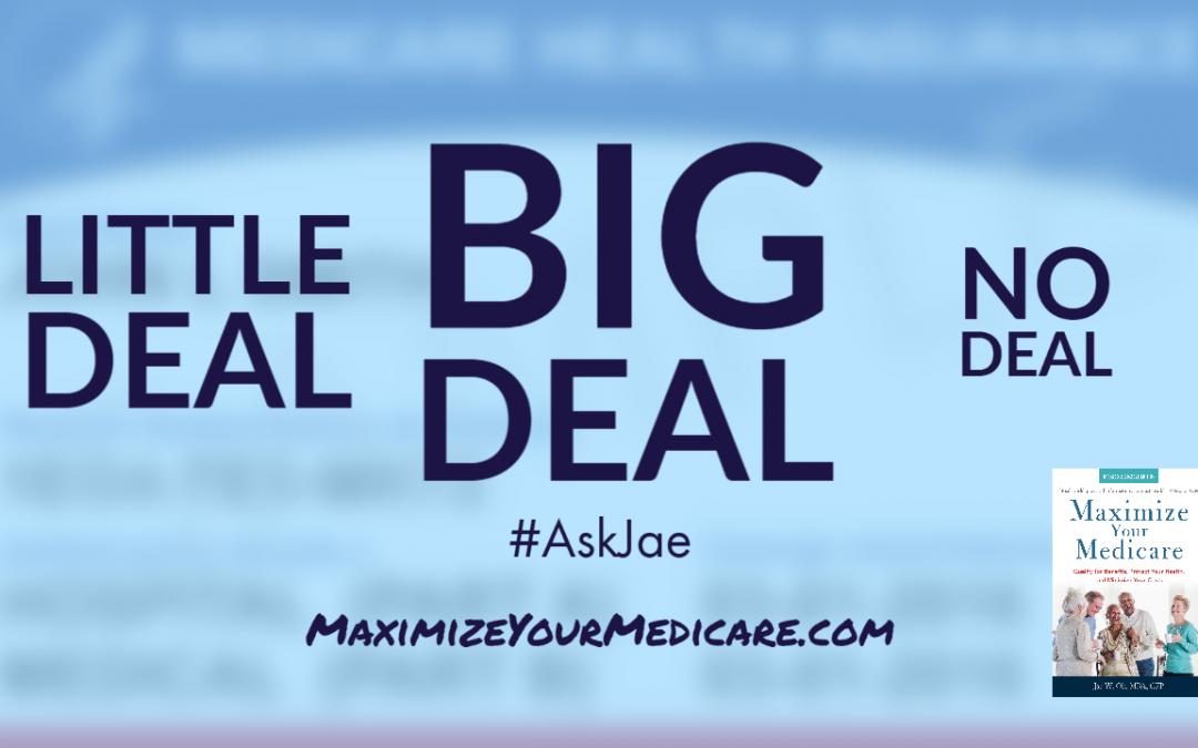 Big Deal, Little Deal, No Deal